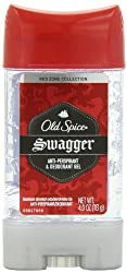Old Spice Red Zone Collection Swagger Scent Mens Anti Perspirant & Deodorant Gel 4 Oz, 3.8 Fluid Ounce