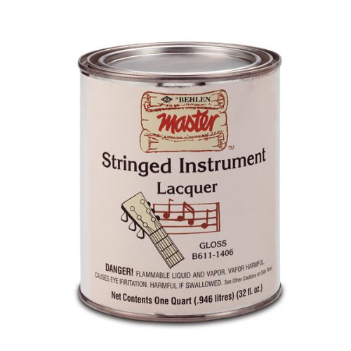 Behlen Stringed Instrument Lacquer, Quart