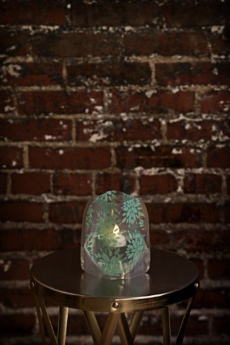 Lila Teal Lumizu Luminaries Four Pack - Floating Led Candles With Batteries Inlcuded - Luminary Lanterns - Wedding, Party, Patio