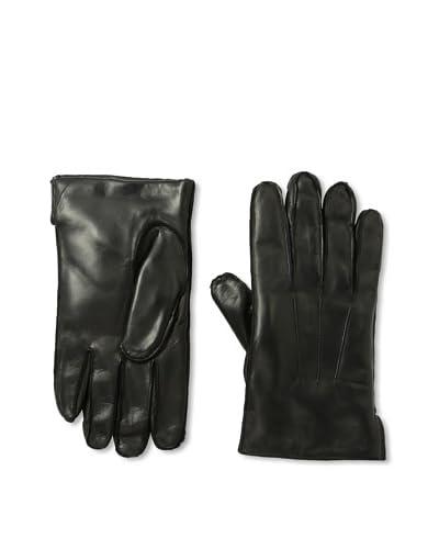 Portolano Men's Cashmere Lined Nappa Gloves with Ship Stitch