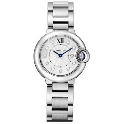 Cartier Ballon Bleu Small Diamond Dial Quartz Watch - WE902073