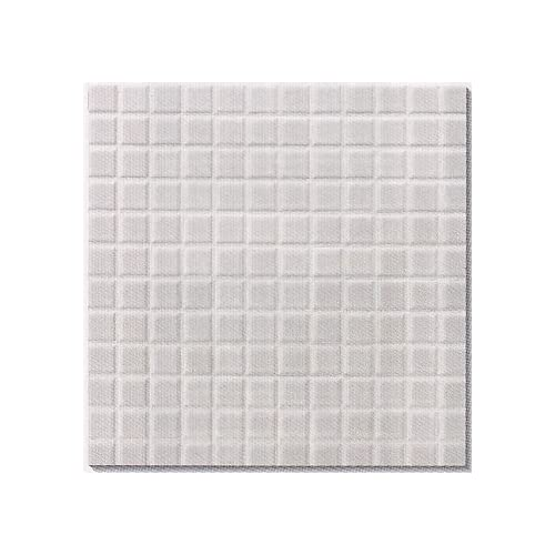 白 25角タイル モザイクタイル(艶あり)磁器 シート(144粒)販売ですミックスデザイン対応 、 浴室(お風呂)、洗面所など水回りや、キッチン カウンター・トイレ・玄関のリフォームなどにも。 床、壁 内装・外装どちらにもOK学校教材、インテリア 雑貨にもお勧め。