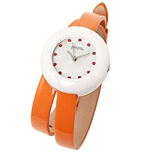 FOLLI FOLLIE フォリフォリ レディース WF13F030SSO-OR HEART4HEART ハートフォーハート 腕時計 オレンジ/ホワイト[並行輸入品]