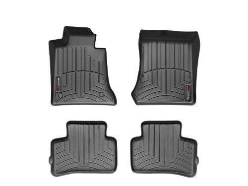 WeatherTech Custom Fit FloorLiner-Mercedes-Benz GLK-Class-2009-2012-1st & 2nd Rows (Weathertech Glk compare prices)