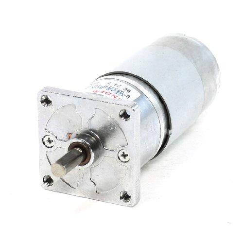 Dc 24V 200Rpm Shaft 2 Pins 38Mm Diameter Electric Power Geared Motor