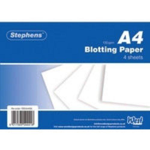 Stephens White Blotting Paper 4Sheets