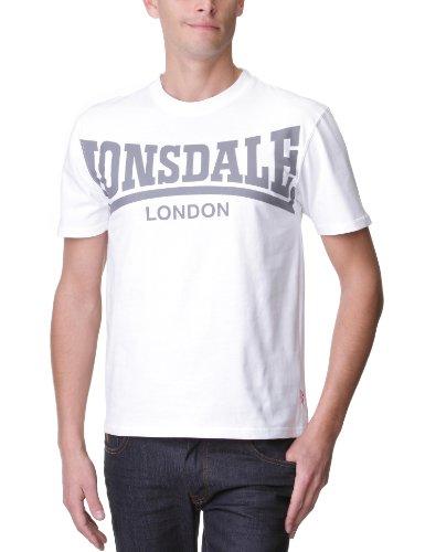 Lonsdale T-shirt York bianco XL (UK L)