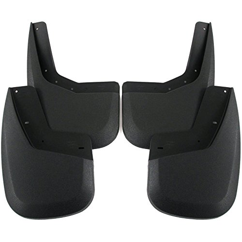 2007-2013 Sierra 1500 Mud Flaps Mud Guards Splash Guards Front Rear 4pc Set (GMC Only) (Mud Flaps For 2014 Gmc Trucks compare prices)