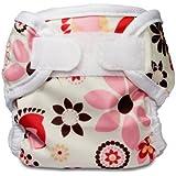 Bummis Super Whisper Wrap Diaper Cover, Bloom, Medium (Discontinued by Manufacturer)