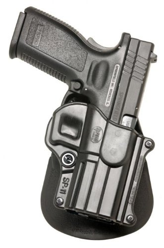 "Fobus Standard Holster RH Paddle SP11 Springfield Armory XD/XDM / HS 2000 9/357/40 5"" 4"" / Sig 2022 / H&K P2000 by Fobus"