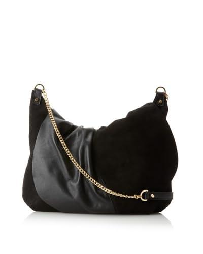 Laura Vela Women's Ibi Shoulder Bag, Black