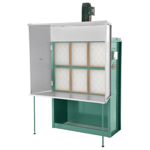 Grizzly G0533 3 HP Dry Spray Booth