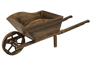 Small Wooden Wheelbarrow Uk