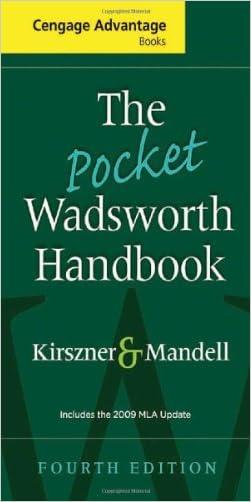 The Pocket Wadsworth Handbook, 2009 MLA Update Edition (2009 MLA Update Editions)