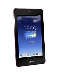 "Asus 90NK00B3-M00380 Tablette Tactile 7"" (17,78 cm) ARM Core 2 Quad Mediatek MT8125 1,2 GHz 16 Go Android Jelly Bean 4.2.1 Wi-Fi Rose Vif"