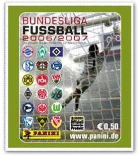 Bundesliga-Sticker 08/09 dt