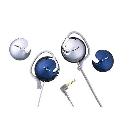 Sony Clip Headphones &#45 Blue &#40MDRQ22TB&#41