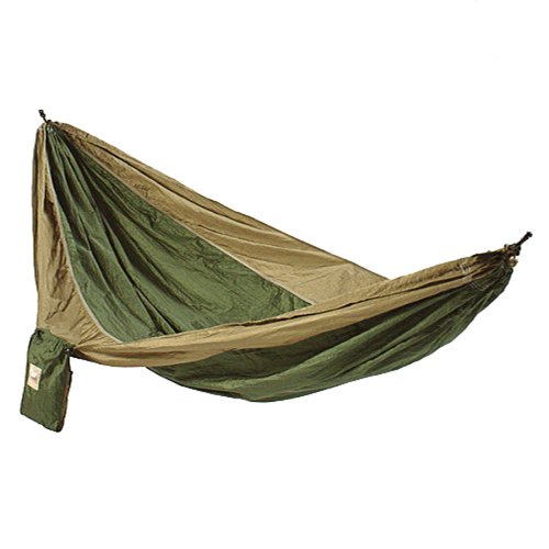 last weekend i played with one of these parachute hammocks  coleman branded one from bcf  which had been modified with a sym side tieouts constructed from     parachute   hammocks  rh   bushcraftoz