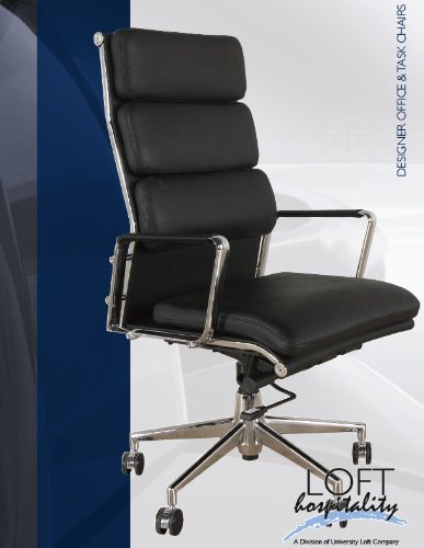 buy cheap loft metropolitan leather office chair with leather