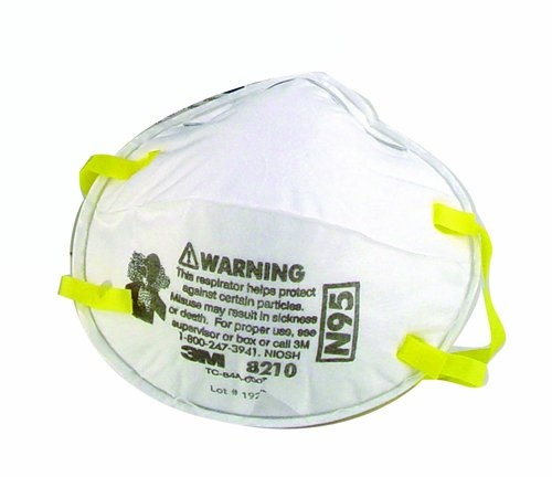 3m 8210 High Efficiency Dust Mask 20 Pack Jptool059