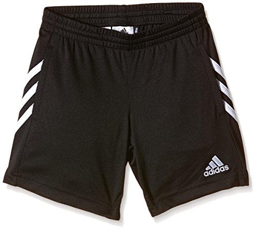 Adidas, Pantaloni corti sportivi Bambino Sereno 14, Nero (Black/White), 128 cm