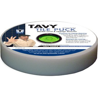 Tavy Tile Puck Marble Level& Lippage Detector