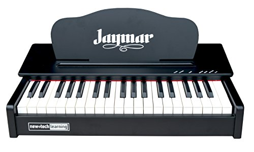 Jaymar 37 key Table Top Digital Piano Keyboard (Black) w/Midi Function and Built In Speakers (Tabletop Piano compare prices)
