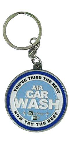 Breaking Bad Metal Key Ring Car Wash