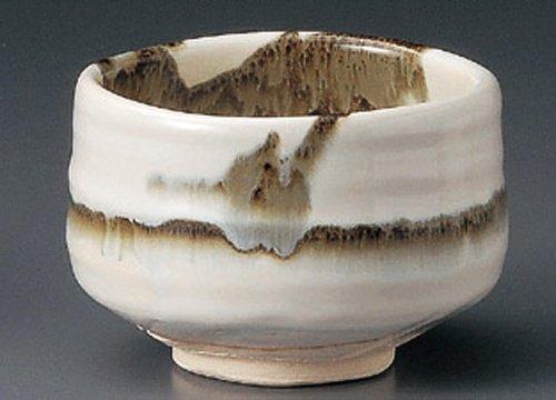 Ususumi-Nagashi 4.6Inches Matcha Bowl Tohki Japanese Pottery