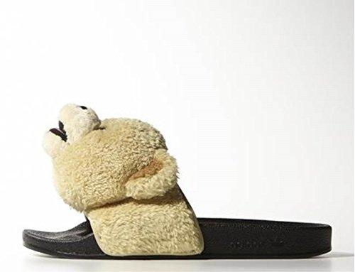 adidas ( アディダス ) オリジナルス JEREMY SCOTT アディレッタ JS ADILETTE TEDDY テディーベア サンダル 【並行輸入品】 23.5cm