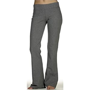 Bella Cotton Spandex Yoga & Workout Pants. 810 - Large - Deep Heather