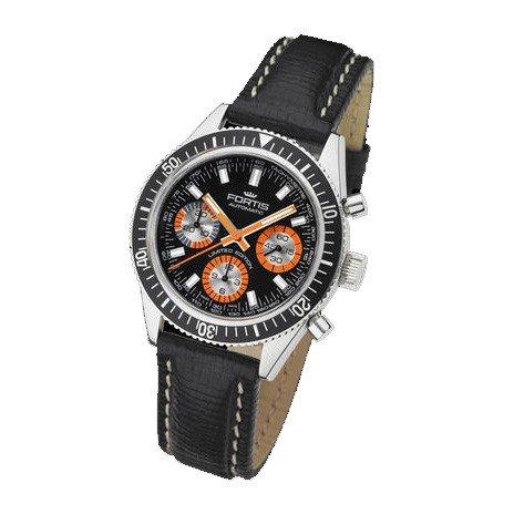 Fortis orologio uomo Maritim Marinemaster Vintage cronografo automatico 800.20.80 L01