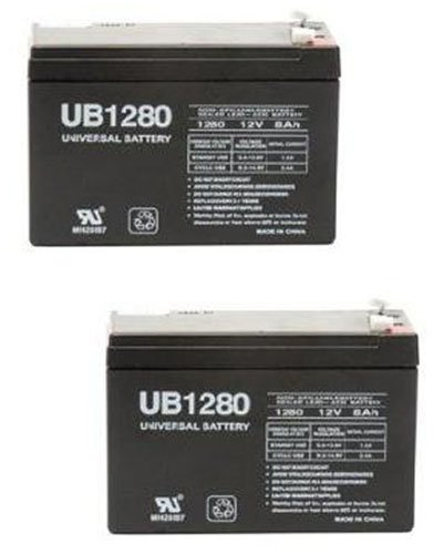 12V 8Ah Go-Ped Esr750, Electric Speed Racer 750 Scooter Battery - 2 Pack
