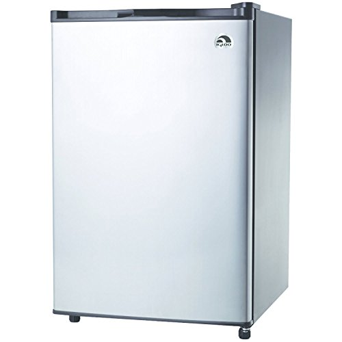 RCA-Igloo 4.5 Cubic Foot Fridge, Stainless Steel (Refrigerator Mini Bar compare prices)