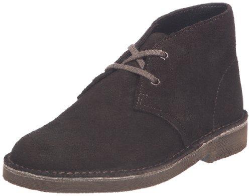 Clarks Originals Desert Boots, Stivaletti ragazzo, Marrone (Braun (Brown Sde)), 27