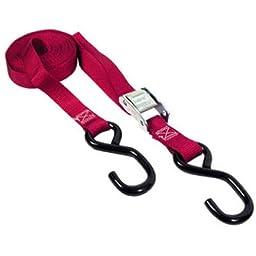 Keeper 5115 15\' Cam Buckle Tie-Down, 400 lbs. WLL (1200 lbs. break strength)
