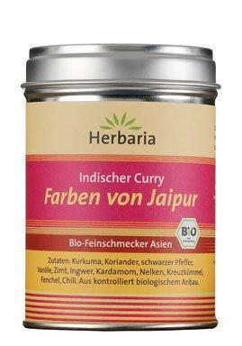 Herbaria Bio Ind. Curry Farben von Jaipur (1 x 80 gr) von Herbaria-Kräuterparadies GmbH - Gewürze Shop