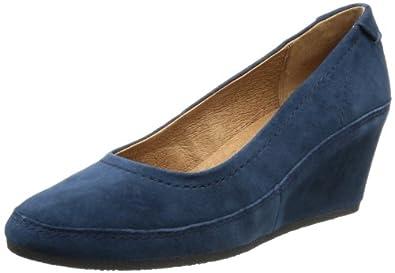 Caprice Womens Saphira-1-1 9-9-22401-21 382 Closed Blue Blau (BLUE SUEDE) Size: 40