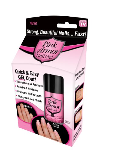 Pink Armor Nail Growth Formula Treatments, 0.50 Fluid Ounce front-58845