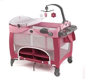 graco travel cot contour prestige sweet princess amazon. Black Bedroom Furniture Sets. Home Design Ideas