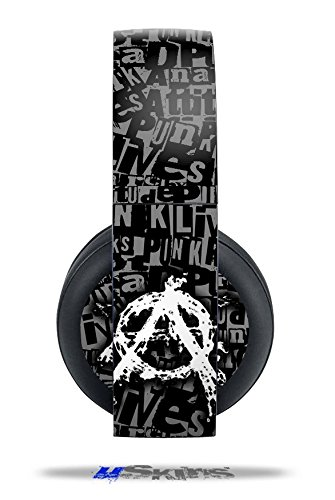 Anarchy - Decal Style Vinyl Skin Fits Original Sony Ps4 Gold Wireless Headphones (Headphones Not Included)