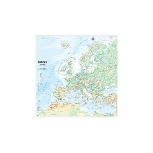 Carta Geografica Europa FisicoPolitica PDF