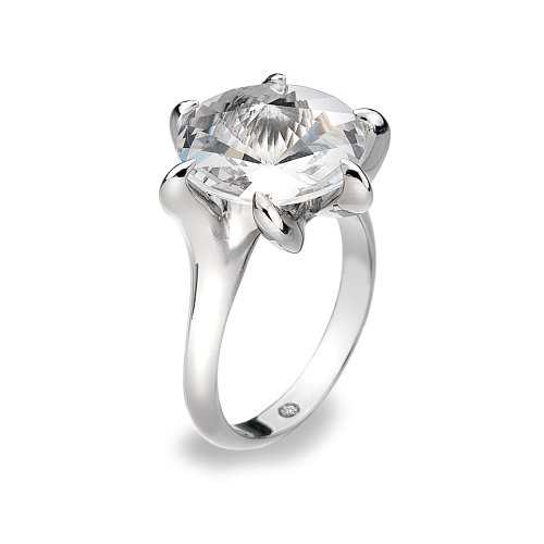 Hot Diamonds Angel Crystal Ring with Swarovski Elements