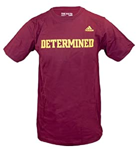 Robert Griffin III Adidas Maroon Determined Go To T-Shirt (Size Large)