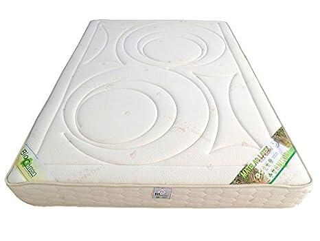 matelas latex 100 % naturel 85 kg - NATURA 80 x 200 épais. 19 cm - classique