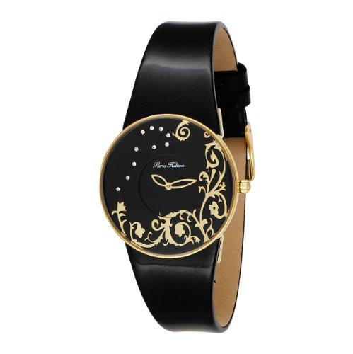 Paris Hilton Women's 138.5082.60 Mirror Black Dial Watch