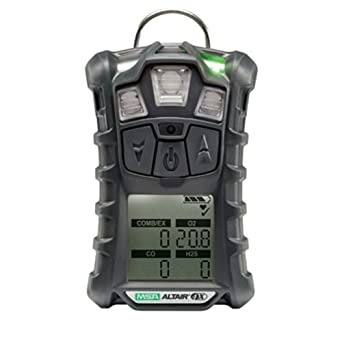 Multi-Gas Detector, 3 Gas, -4 to 122F, LCD