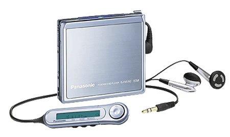 Panasonic SJ-MJ50ポータブルMDプレイヤー