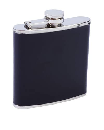 Back in Black 6-Oz. Stainless Steel Flask