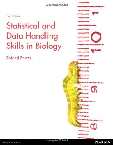 Statistical and Data Handling Skills in Biology